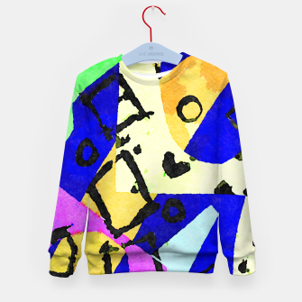 Thumbnail image of Square Field Kid's sweater, Live Heroes
