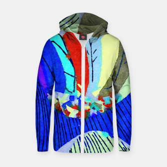 Thumbnail image of Lick the Rainbow Zip up hoodie, Live Heroes