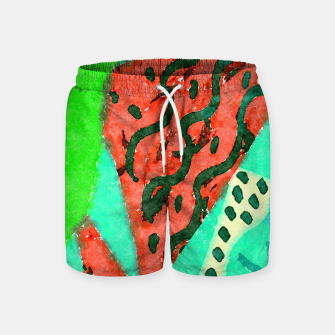 Thumbnail image of Without title Swim Shorts, Live Heroes