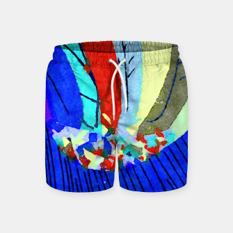 Thumbnail image of Lick the Rainbow Swim Shorts, Live Heroes