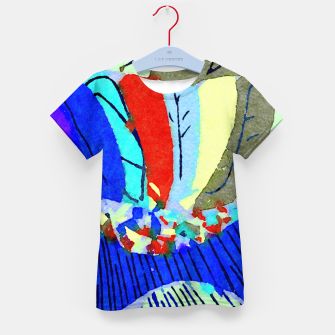 Thumbnail image of Lick the Rainbow Kid's t-shirt, Live Heroes