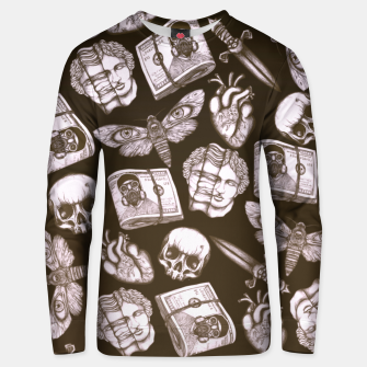 Thumbnail image of Bones and stuff Unisex sweater, Live Heroes