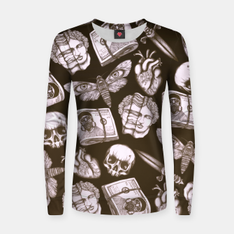 Imagen en miniatura de Bones and stuff Women sweater, Live Heroes