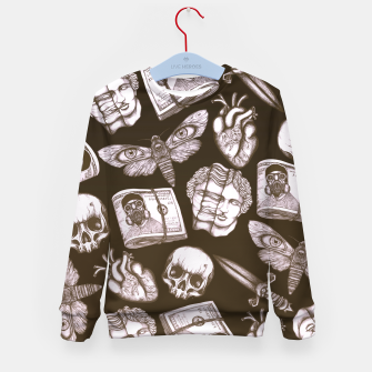 Thumbnail image of Bones and stuff Kid's sweater, Live Heroes