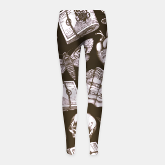 Imagen en miniatura de Bones and stuff Girl's leggings, Live Heroes