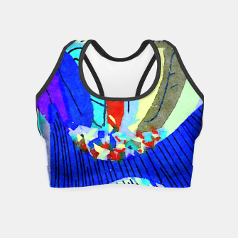 Thumbnail image of Lick the Rainbow Crop Top, Live Heroes