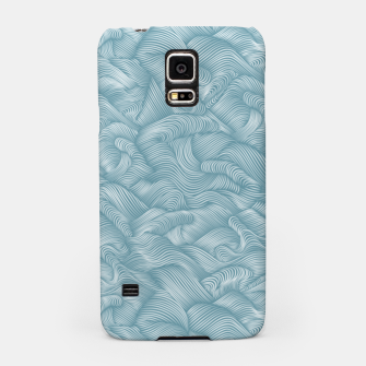 Miniatur Silky Waves of the Boundless Turmaline Sea Samsung Case, Live Heroes