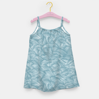 Miniatur Silky Waves of the Boundless Turmaline Sea Girl's dress, Live Heroes