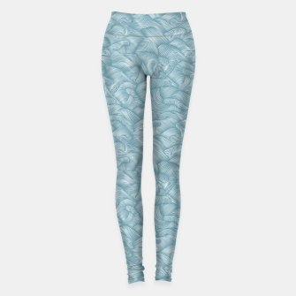 Miniatur Silky Waves of the Boundless Turmaline Sea Leggings, Live Heroes