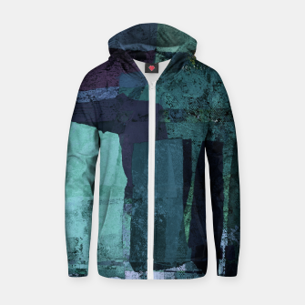 Thumbnail image of Torn Zip up hoodie, Live Heroes