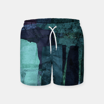 Thumbnail image of Torn Swim Shorts, Live Heroes