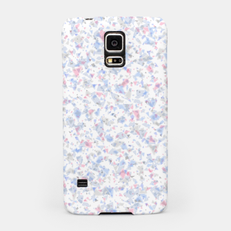 Thumbnail image of Broken marble pastel triangles white pattern light geometric shards Samsung Case, Live Heroes