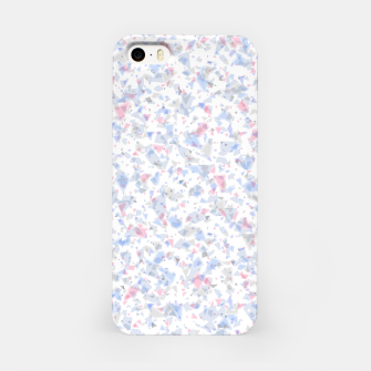 Thumbnail image of Broken marble pastel triangles white pattern light geometric shards iPhone Case, Live Heroes