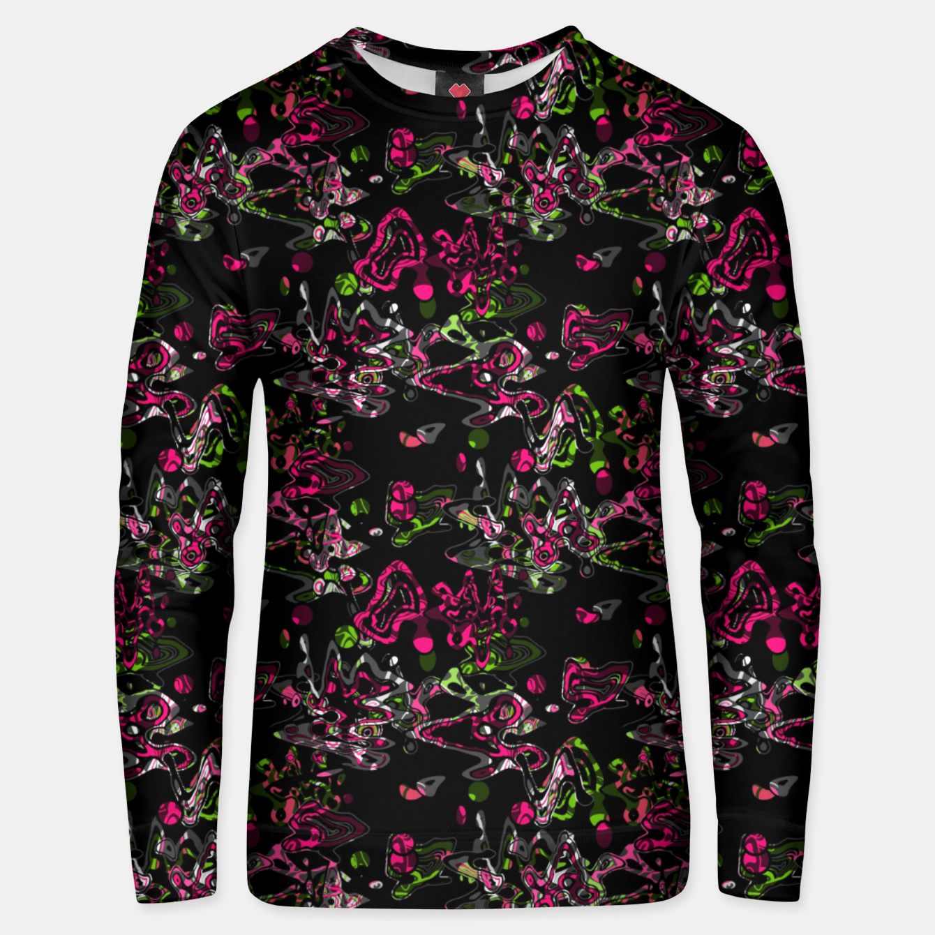 Image of Abstract modern art digital Unisex sweater - Live Heroes