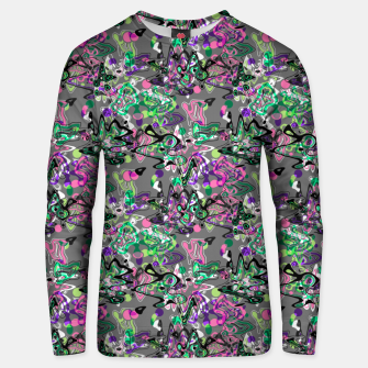 Abstract modern art digital Unisex sweater thumbnail image