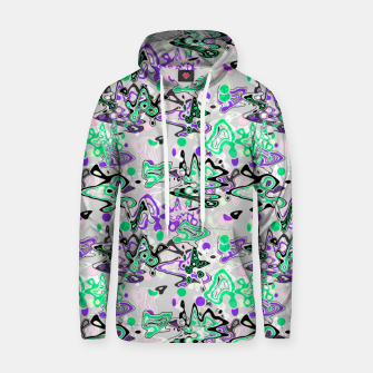 Abstract modern art digital Hoodie thumbnail image