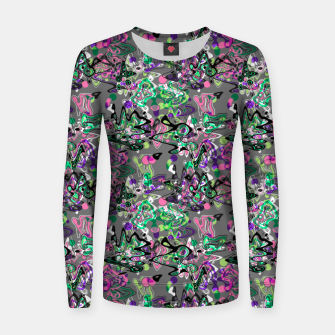 Abstract modern art digital Women sweater thumbnail image