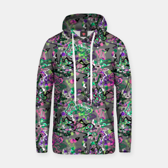 Thumbnail image of Abstract modern art digital Hoodie, Live Heroes