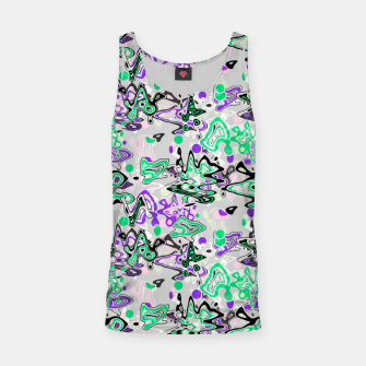Thumbnail image of Abstract modern art digital Tank Top, Live Heroes