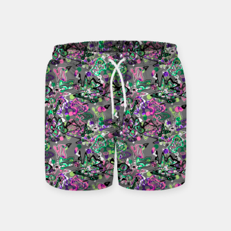 Abstract modern art digital Swim Shorts thumbnail image