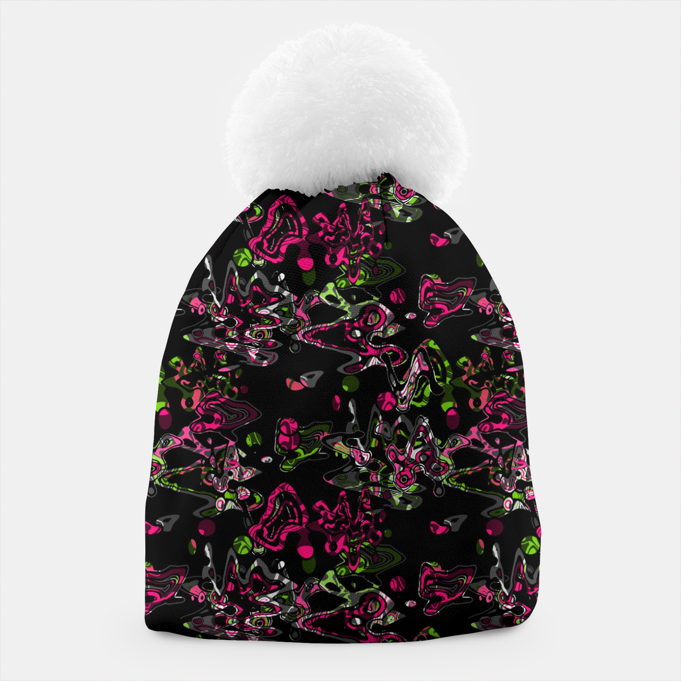 Image of Abstract modern art digital Beanie - Live Heroes