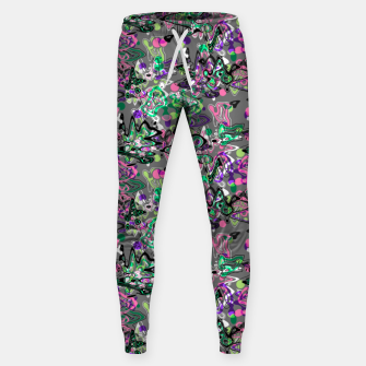 Thumbnail image of Abstract modern art digital Sweatpants, Live Heroes