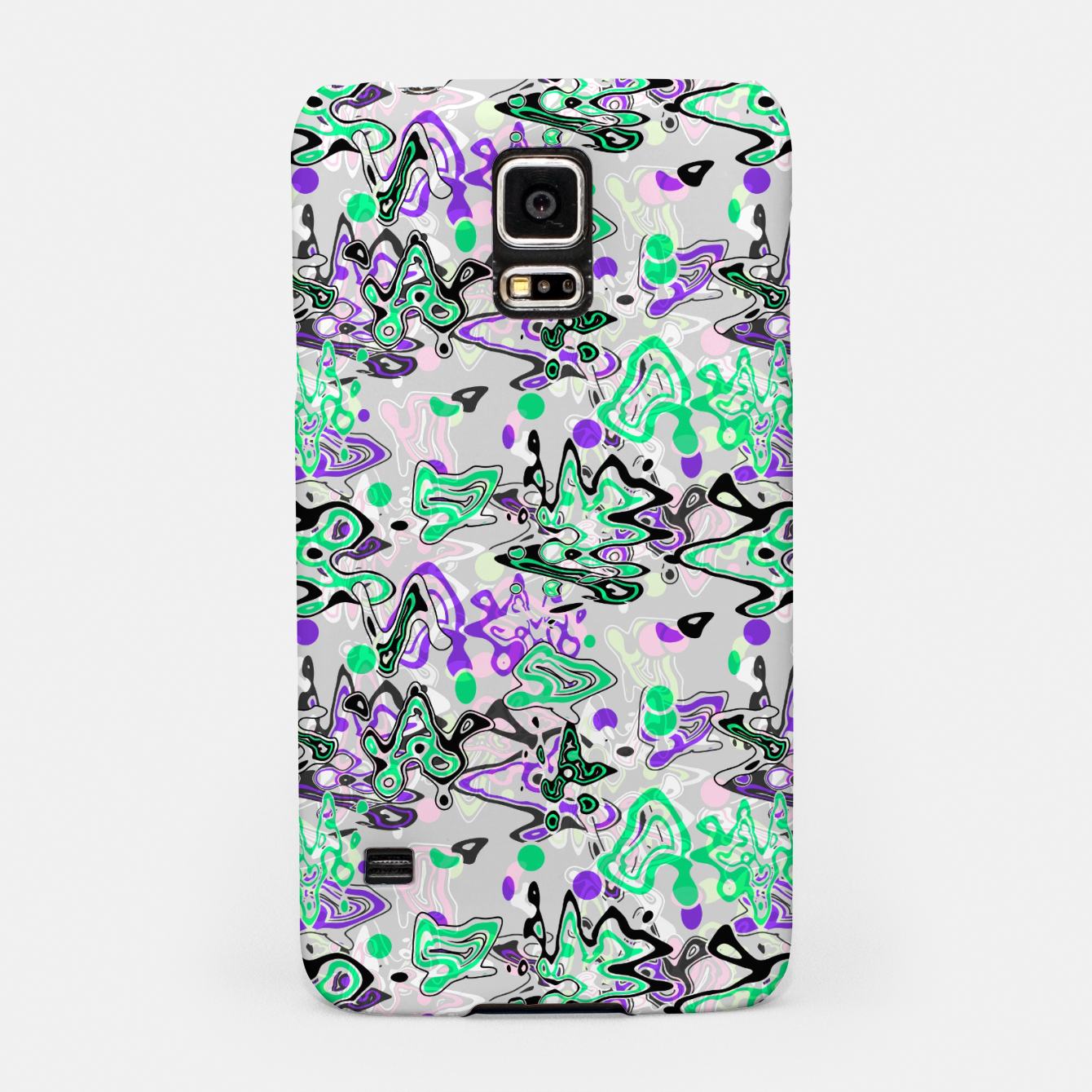Image of Abstract modern art digital Samsung Case - Live Heroes