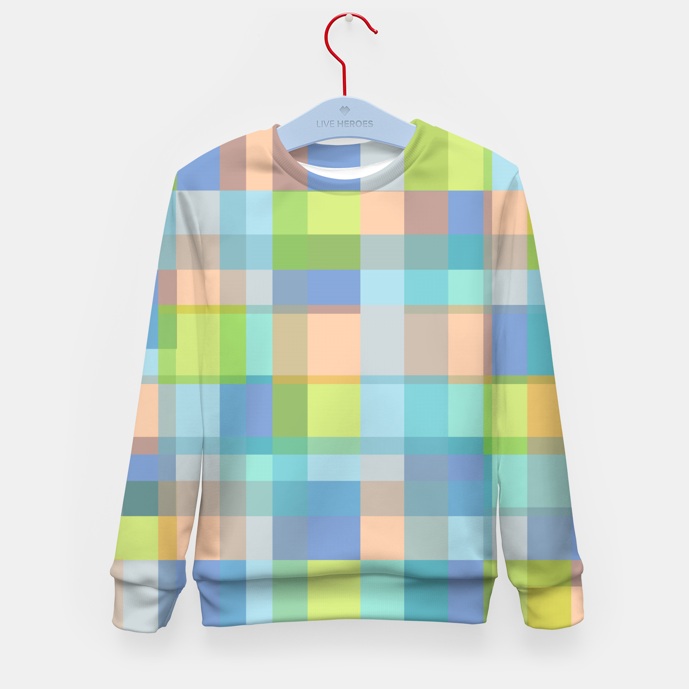 Image of zappwaits r01 Kid's sweater - Live Heroes