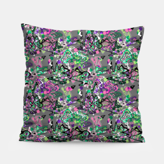 Abstract modern art digital Pillow thumbnail image
