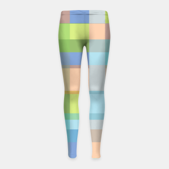 Thumbnail image of zappwaits r01 Girl's leggings, Live Heroes