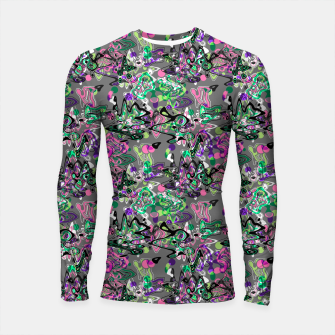 Abstract modern art digital Longsleeve rashguard  thumbnail image