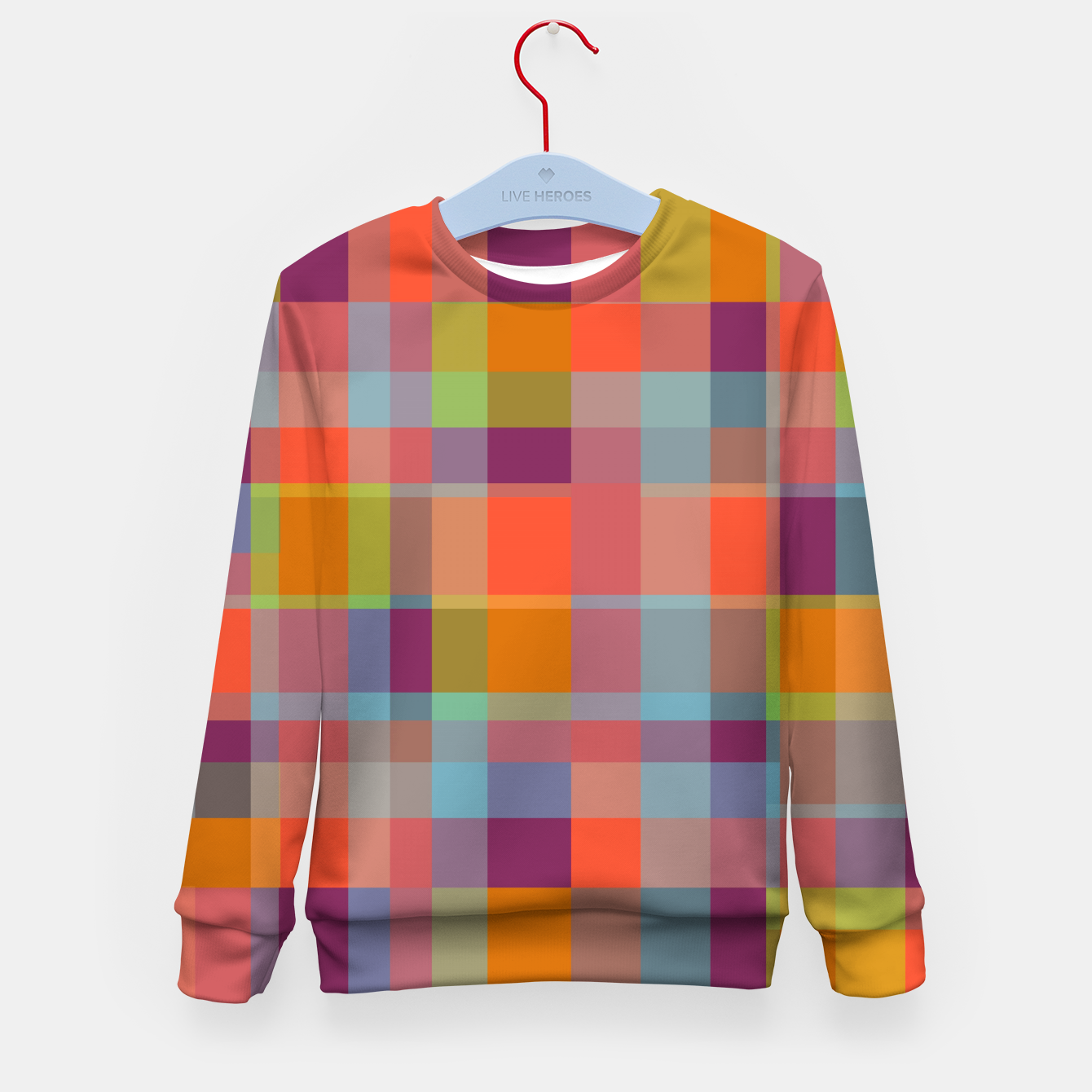 Image of zappwaits r02 Kid's sweater - Live Heroes