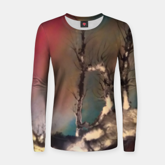 Thumbnail image of padurea magica Women sweater, Live Heroes