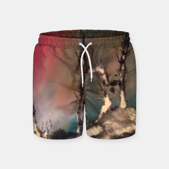 Thumbnail image of padurea magica Swim Shorts, Live Heroes
