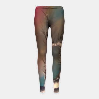 Thumbnail image of padurea magica Girl's leggings, Live Heroes
