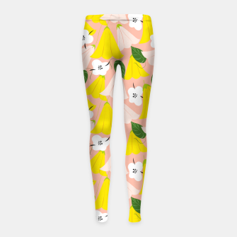 Thumbnail image of Bella Girl's leggings, Live Heroes