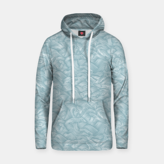 Thumbnail image of Silky Waves of the Boundless Slate Blue Sea Hoodie, Live Heroes