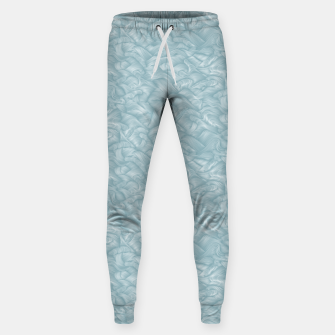 Thumbnail image of Silky Waves of the Boundless Slate Blue Sea Sweatpants, Live Heroes