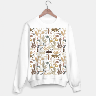 Wild Desert Shapes I Sudadera regular miniature