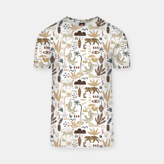 Wild Desert Shapes I Camiseta miniature
