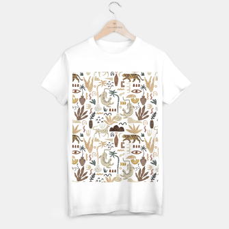 Wild Desert Shapes I Camiseta Regular Bild der Miniatur