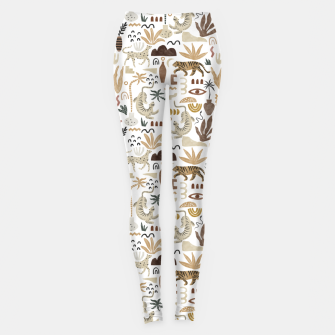 Wild Desert Shapes I Leggings miniature