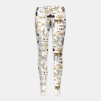 Wild Desert Shapes I Leggings para niña miniature