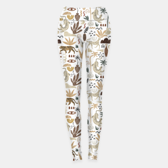 Wild Desert Shapes I Leggings Bild der Miniatur
