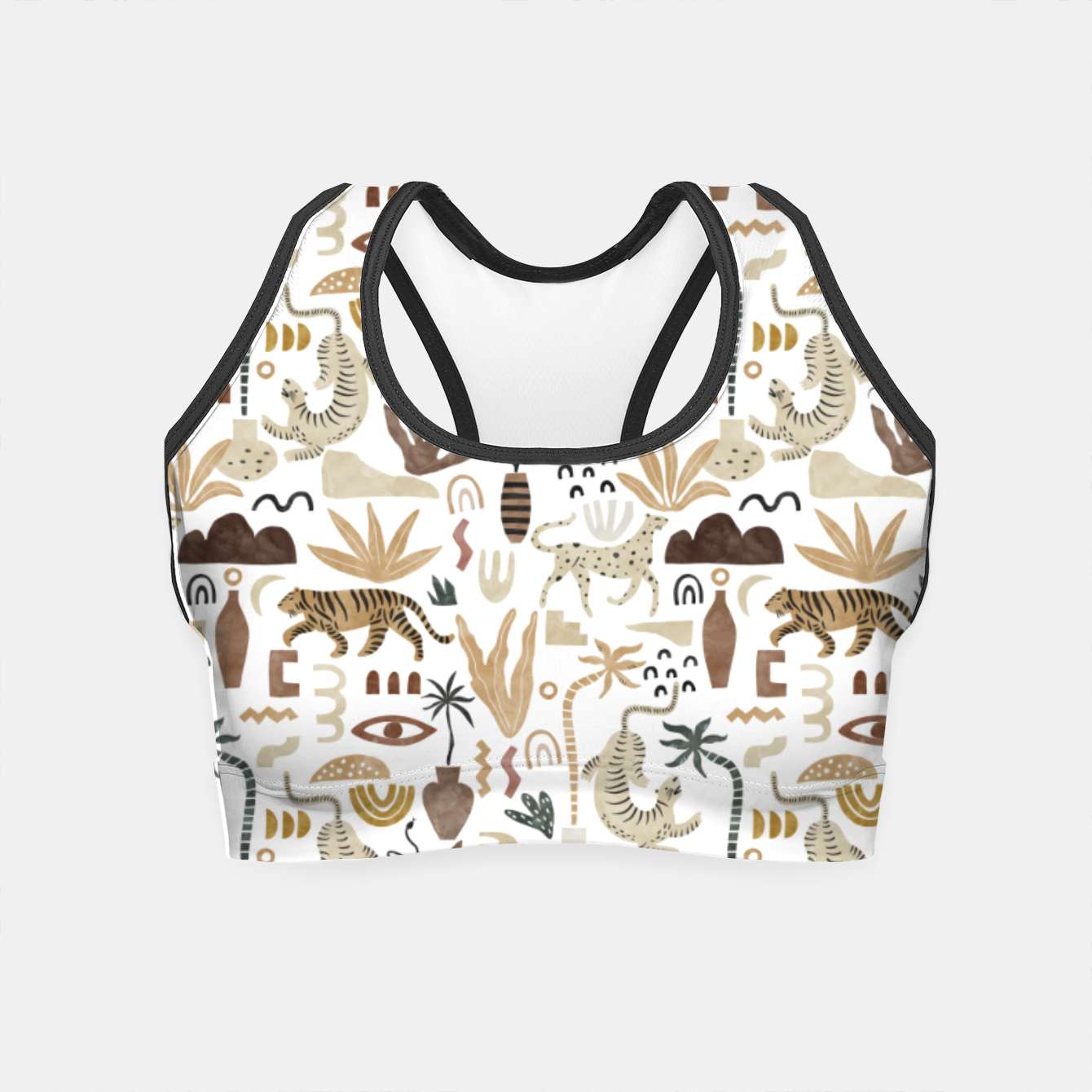 Image of Wild Desert Shapes I Crop Top - Live Heroes