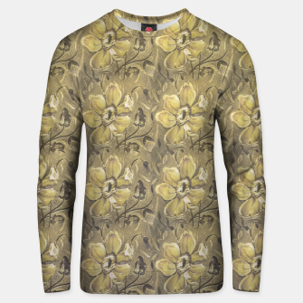Thumbnail image of Retro Stlye Floral Decorative Print Pattern Unisex sweater, Live Heroes
