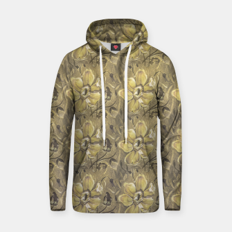 Thumbnail image of Retro Stlye Floral Decorative Print Pattern Hoodie, Live Heroes