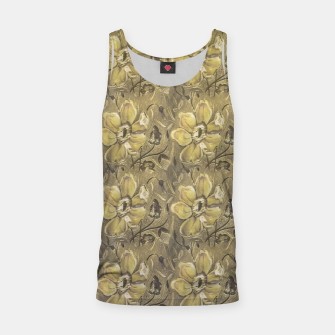 Thumbnail image of Retro Stlye Floral Decorative Print Pattern Tank Top, Live Heroes