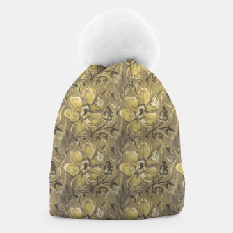Thumbnail image of Retro Stlye Floral Decorative Print Pattern Beanie, Live Heroes