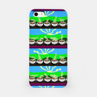 Thumbnail image of Coffee Mornings iPhone Case, Live Heroes